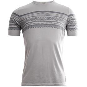 Aclima DesignWool Marius T-shirt Herre paloma grey/castle rock